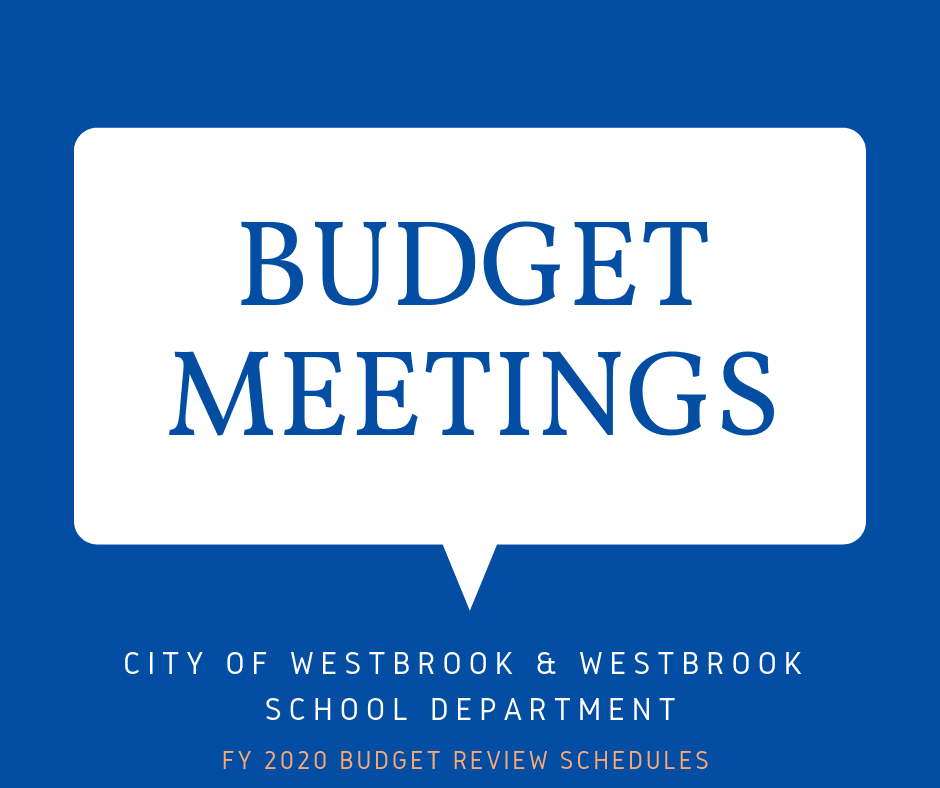 BUDGET MEETINGS (1)
