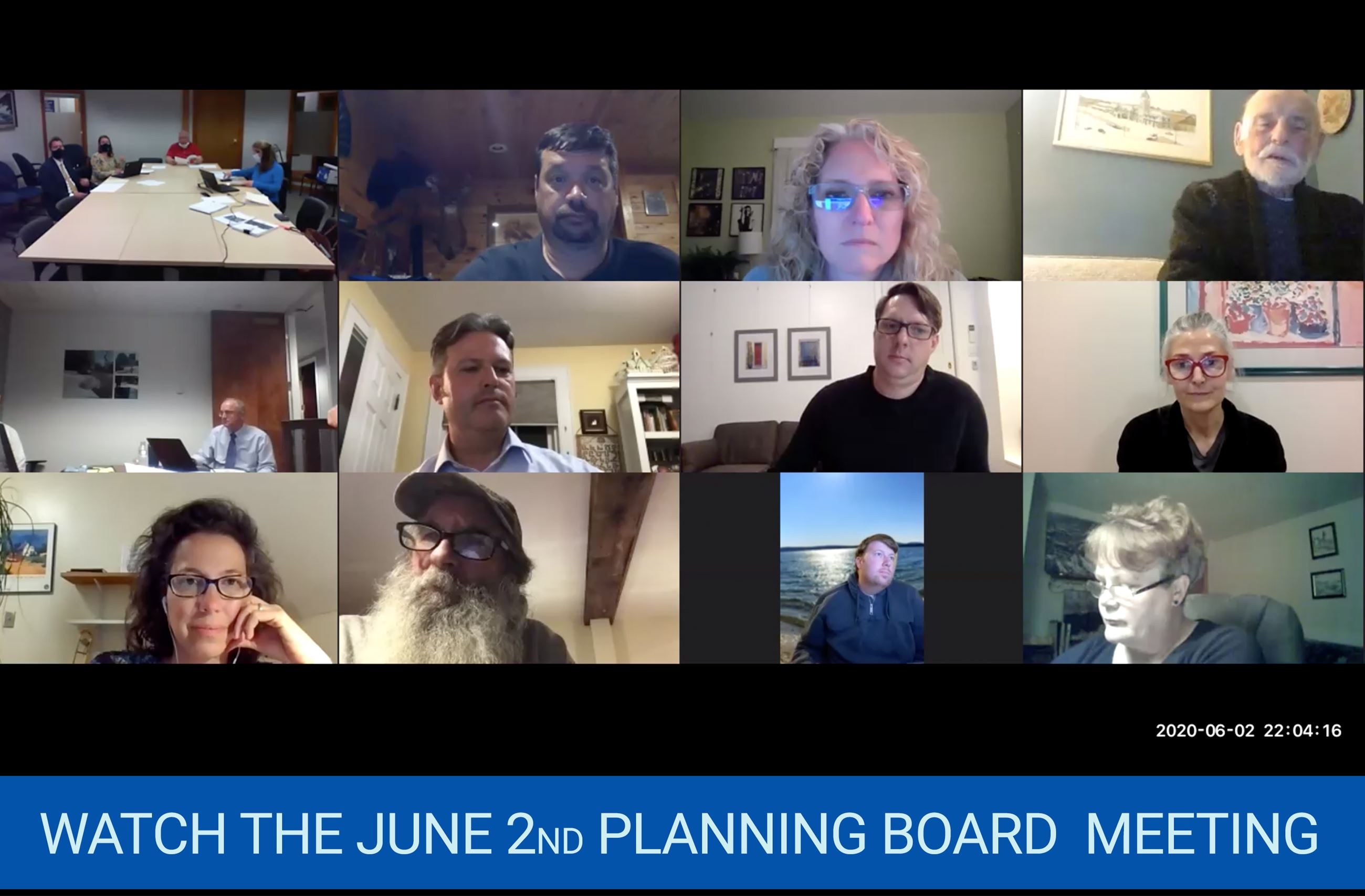 Planning Board June 2nd 2020