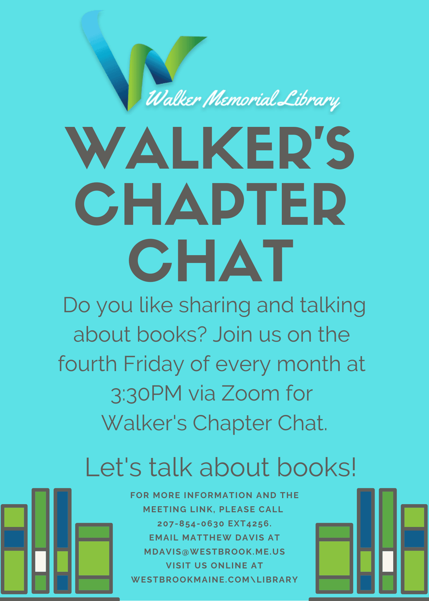 Walker's Chapter Chat