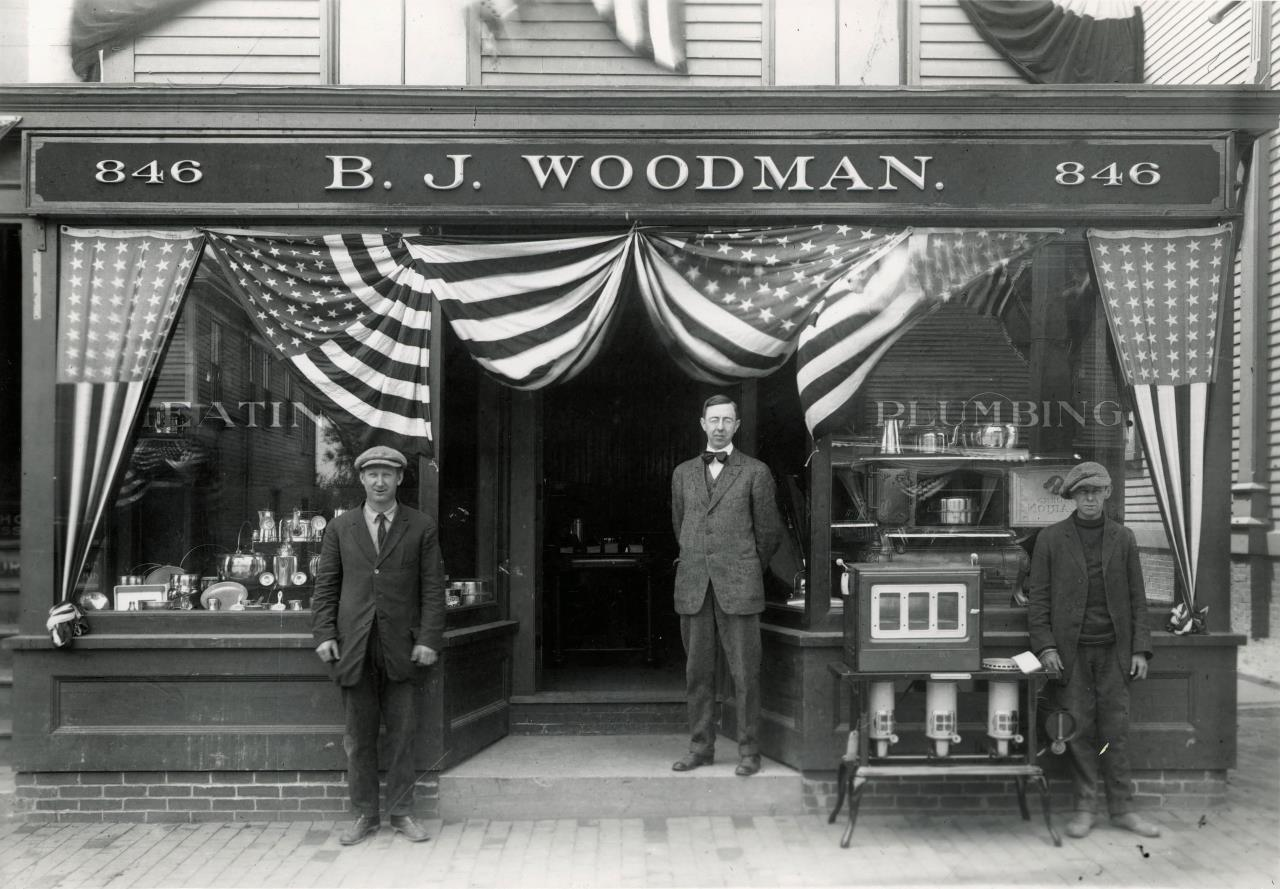 B. J. Woodman at 846 Main Street